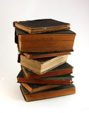 Alte staubige Bücher Lizenzfreies Stockfoto