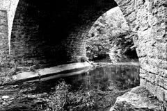 Alte Stein-Brücke Stockfotografie