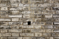 Alte Steinblockwandbeschaffenheit Stockbilder
