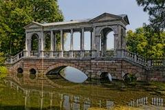 Alte Steinbrücke Stockbild