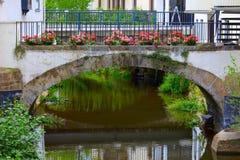 Alte Steinbrücke Stockfotos