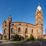 Alte Steinkirche Stockfotografie