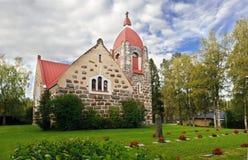 Alte Steinkirche Stockfotos