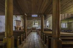 Alte Steinkirche Lizenzfreie Stockfotos