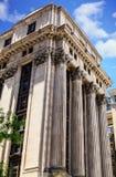 Alte Steinsäulen in Boston Lizenzfreie Stockfotografie