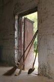 Alte Steinscheune Lizenzfreie Stockbilder