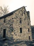 Alte Steinscheune in Virginia lizenzfreies stockbild