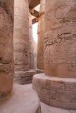 Alte Steinspalten in Ägypten Lizenzfreies Stockfoto