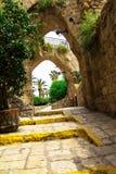 Alte Steinstadt Jaffa in Tel Aviv Lizenzfreies Stockbild