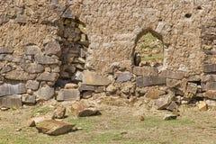 Alte Steinwand Stockbild
