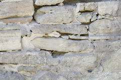 Alte Steinwand-Beschaffenheit Lizenzfreie Stockfotografie