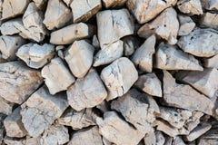 Alte Steinwand, Beschaffenheit des Steins Lizenzfreie Stockfotos