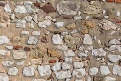 Alte Steinwand Beschaffenheit und Hintergrund Stockfotografie