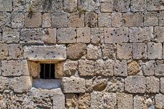 Alte Steinwand der Festung Lizenzfreie Stockfotografie