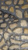 Alte Steinwand in der T?rkei lizenzfreie stockbilder