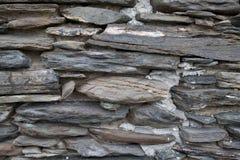 Alte Steinwand-Hintergrund-Beschaffenheit Lizenzfreie Stockfotografie