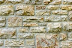 Alte Steinwand-und Mörser-Hintergrund-Beschaffenheit Lizenzfreie Stockbilder