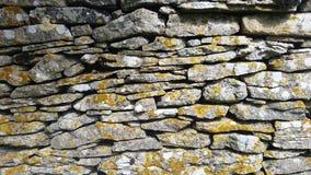 Alte Steinwandbeschaffenheit - Crémieu Frankreich Stockfotos