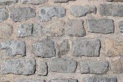 Alte Straße des Steins Stockbild