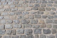 Alte Straße des Steins Lizenzfreie Stockfotografie