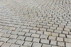 Alte Straße gepflastert Lizenzfreies Stockbild