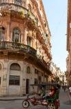 Alte Straße in Havana Stockfotografie