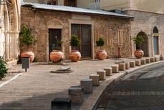 Alte Straße von Jaffa, Israel Stockfotos