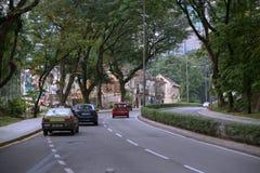 Alte Straße von Kuala Lumpur Stockfotos
