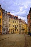 Alte Straße von Lublin lizenzfreies stockfoto