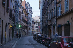 Alte Straße von Rom Lizenzfreie Stockfotos
