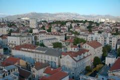 Alte Straßen in der Spalte, Kroatien Stockbilder
