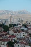 Alte Straßen in der Spalte, Kroatien Lizenzfreies Stockbild