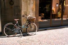 Alte Straßen von Lucca, Italien Lizenzfreie Stockfotos