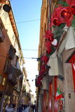 Alte Straßendekoration, Verona, Italien Lizenzfreies Stockfoto
