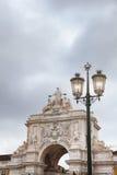 Alte Straßenlaterne, Detail einer alten Beleuchtung in der Verdichtereintrittslufttemperat Lizenzfreie Stockbilder