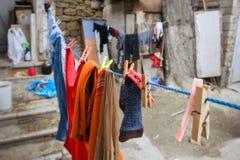 Alte Straßenreise Stadt-Bakus Azerbaijan Lizenzfreie Stockbilder