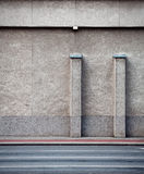 Alte Straßenwand Stockfoto