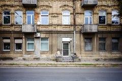 Alte Straßenwand Lizenzfreie Stockfotografie