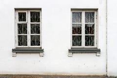 Alte Straßenwand Stockbild