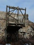 Alte Struktur in Ballestas-Insel Lizenzfreie Stockfotos
