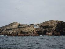Alte Struktur in Ballestas-Insel Lizenzfreie Stockbilder