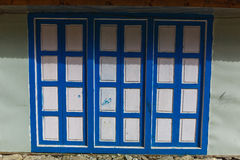 Alte strukturierte Tür Lizenzfreie Stockbilder
