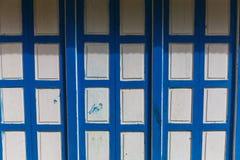 Alte strukturierte Tür Stockfotografie