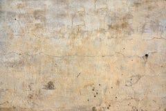 Alte Stuckwandbeschaffenheit der beige Farbe Stockbild