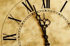Alte Stunden mit Beschaffenheit Lizenzfreies Stockfoto