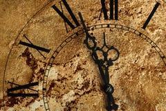 Alte Stunden mit Beschaffenheit Stockbilder