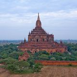 Alte Sulamani-Pagode in Bagan, Myanmar Stockfotos