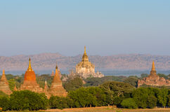 Alte Sulamani-Tempel von bagan bei Sonnenaufgang, Bagan (Heide) Lizenzfreie Stockbilder
