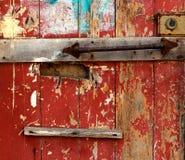 Alte Tür Stockbild