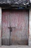 Alte Tür lizenzfreie stockfotografie